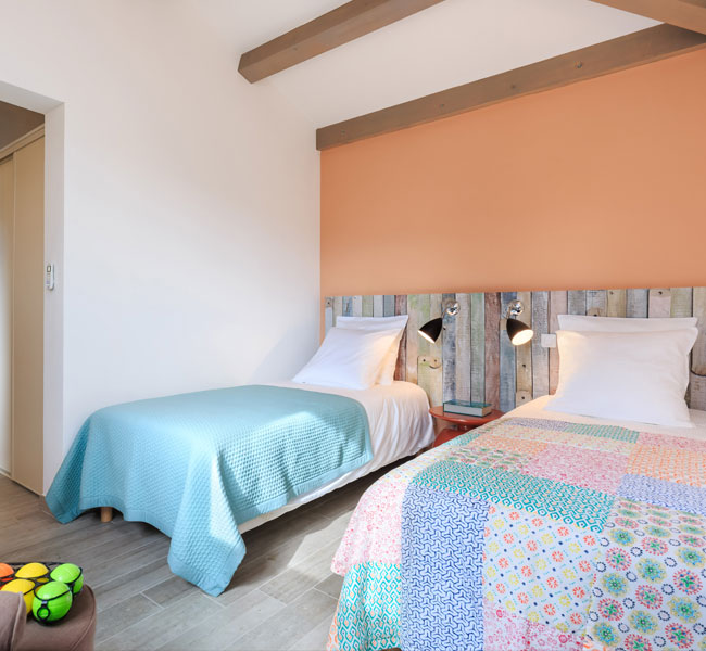 Holiday home with children's bedrooms